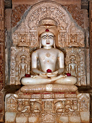 Jain Temple Complex, Jaisalmer (Grete Howard) Tags: india temple religion devotees jain jaisalmer rajasthan jainism jaisalmerfort jaintemples