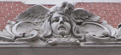 Owl and Lady (robert_m_brown_jr) Tags: building architecture stpetersburg russia relief artnouveau owl