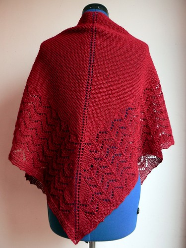 Red Wood Peddlers Shawl_1