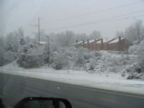 Snow along 66
