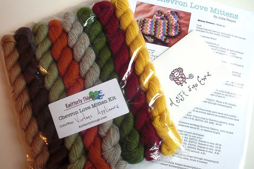 Lovely gift from Chawne! Yeah! Vintage Appliance colorway, so gorgeous!