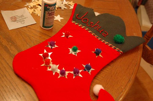 joshua's stocking