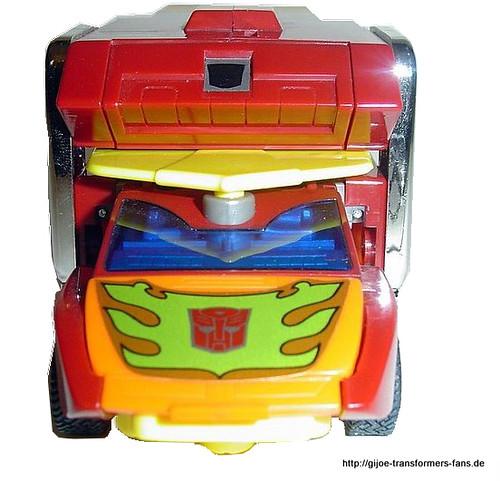 Rodimus Prime Transformers Generation 1 Commemorativ Series VII  016