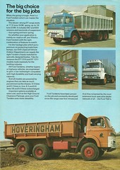 1975 Ford trucks of Britain