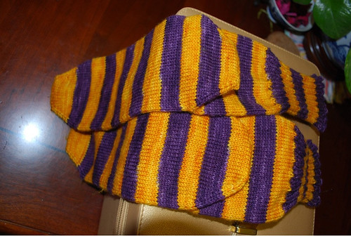 Old guys LSU socks
