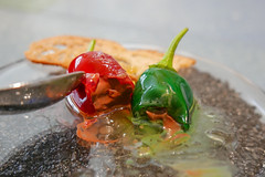 Chocolate Peppers, Oil and Salt