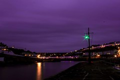Purple docks (cameronmathiesen1) Tags: sea greenllight surreal purplesky cornwall porthleven harbour canon canon1100d
