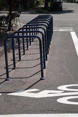new bike corrals on N. Williams-7