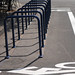 new bike corrals on N. Williams-7