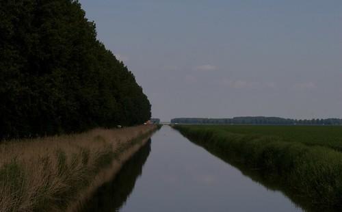 Flevopolder ten noorden van Lelystad