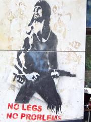 No legs, no problem (jglsongs) Tags: streetart israel jerusalem ישראל ירושלים yerushalayim القدس القـُدْس