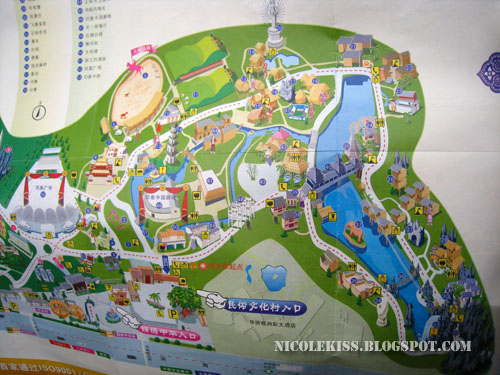 china folk culture villages map 2