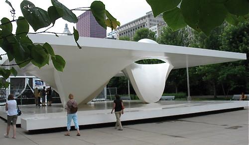 Burnham Pavilion, by UNStudio/Ben van Berkel