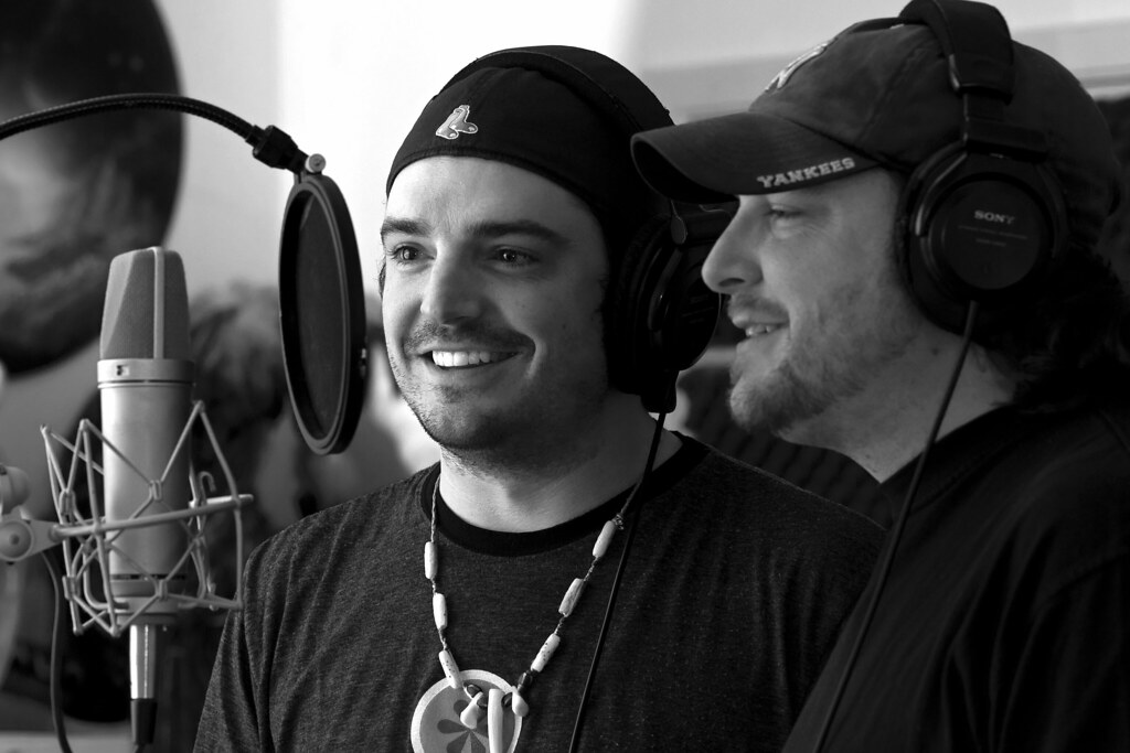Willy & Cody Braun in the Studio