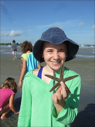 Julia with a Beaded Sea Star