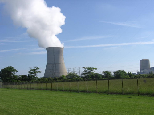 Davis-Besse cooling tower