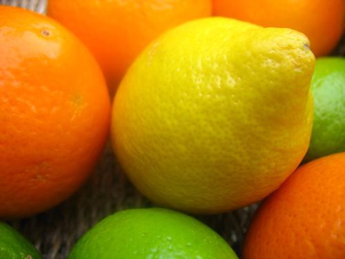Lemon- centre stage