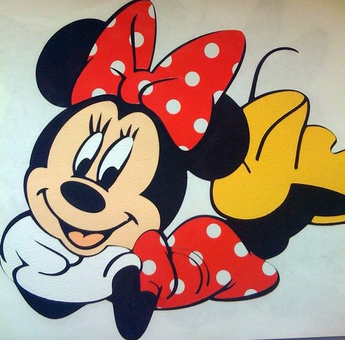 Disney Bazzill Colors: Minnie