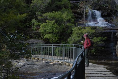 between the cascades