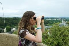 Farah auf dem Bismarckturm