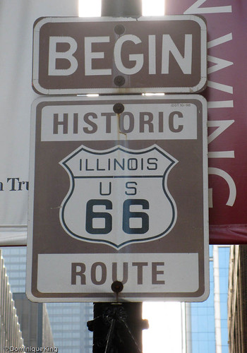 Route 66 begins here