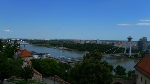 View from Bratislavský Hrad