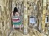 Valerie Peeing 2 HDR (NYESS418) Tags: standing bathroom piss peeing mensroom