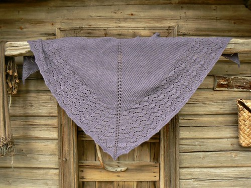 Wool Peddlers Shawl  FO1