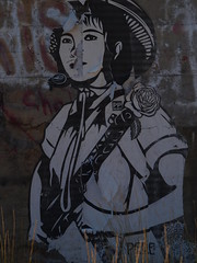 Revolution (69eclipse) Tags: red woman girl rose lady digital poster war uniform peace graphic peaceful revolution redball redlips redlight machinegun vietcong redgum redgun redwindow redworld redwar moneyred redchange