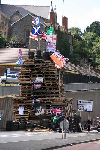 Bogside Bonfire