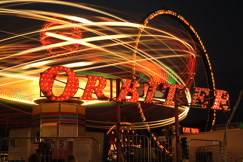 The Orbiter, Altamont Fair, Altamont, N.Y. Photo by Chuck Miller.