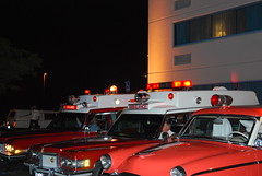 Light and Siren Show (pcsmoroute66) Tags: pcs cadillac ambulance beacon siren hearse rotator lifeliner