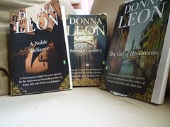 Trio of Donna Leon's