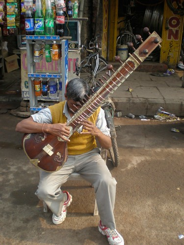 Playing The Beatles on a sitar