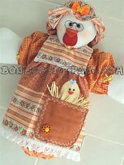 .:. Galinha Puxa-Saco .:. (Bonecos de Pano .Com) Tags: galinha decorao cozinha puxasaco portasaco portasacola