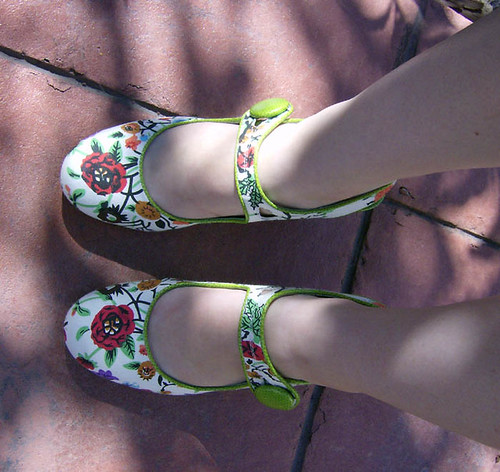 My floral shoes
