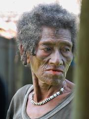 Kikita auntie (Sven Rudolf Jan) Tags: woman tattoo jan papuanewguinea betelnut tufi facialtattoo hasselberg janhasselberg