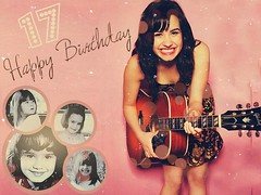 Happy Birthday Demi! (~ Alexz) Tags: birthday wallpaper musician music rock concert kevin graphic brothers song live nick grow joe disney pop mature sing singer actress demi cyrus wish date taking jonas selena gomez edit 17th bff talented blend nemi seventeen miley tremi lovato devonne jemi demetria telena taylena