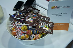 UX Australia - The Lolly jar!