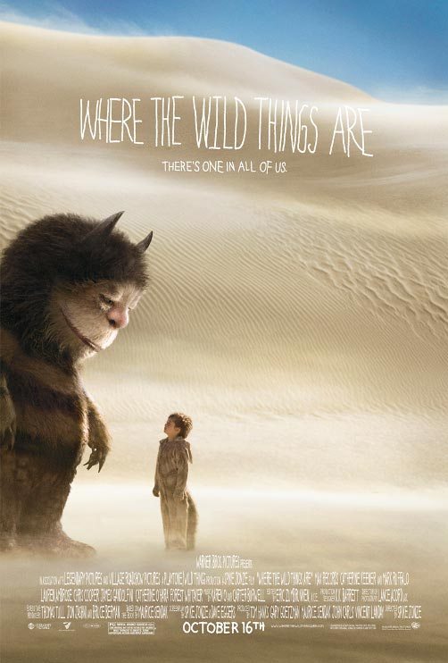 Nuevo póster de 'Where the wild things are'