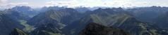 Panorama: Von der Zugspitze bis Namlos (bookhouse boy) Tags: panorama mountains berge 2009 lechtaleralpen thaneller berwang zugspitzgebiet 6september2009