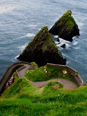 Dunquin Pier (Alan Wrights) Tags: ireland sea alan pier dingle kerry cliffs wright dunquin
