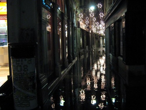 flooded calle