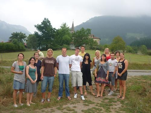 Erasmus ikasleak Goronaetan, Aretxabaletan
