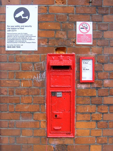 unusual letter boxes. Wall Letter Box, Chingford