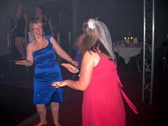 Suzie and Jess dancing