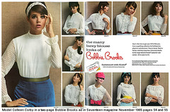 Colleen Corby bobbie brooks 2-page ad (AngoraSox) Tags: nyc autumn girls portrait color cute fall fashion happy photography mod fashionphotography pennsylvania teenagers teens nostalgia timetravel 1960s unusual rare sixties fashionweek wilkesbarre magazinecovers vintageclothing covergirls fashionicon seventeenmagazine fashionhistory culturalicon vintagemagazinecovers sixtiesfashions colleencorby bobbiebrooks teenfashions 1960sfashions modclothing modfashions 1960sseventeenmagazines famousfashionphotographers