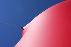 Art Copenhagen (Anders Hansen) Tags: blue red sky sculpture abstract art contrast copenhagen denmark baloon minimal carlsberg københavn bestminimalshot
