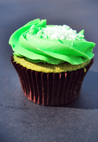 Exotic Buko Pandan Cupcakes by Paolo