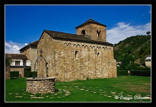 Ermita de San Caprasio (Sta. Cruz de la Serós) por ENESSOL.